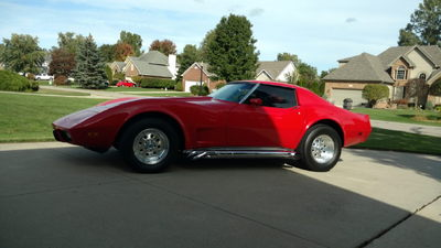 1975 Corvette,not stock!