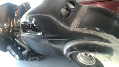 1941 WILLYS COUPE PROSTREET PROJECT CAR