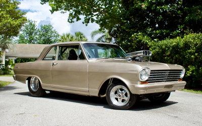 1963 Chevrolet Nova Supercharged Dart 383 Stroker / Full Cag