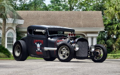 1932 Ford 5-Window Coupe All Steel Body