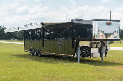NEW Sundowner 50' Toy Hauler with 28' Garage!