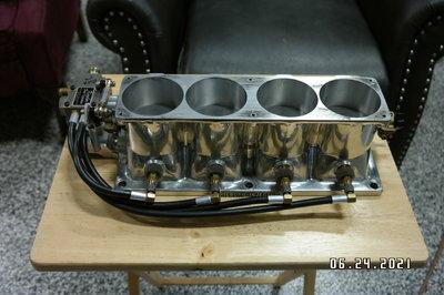 Kinsler Hilborn 4 port injector