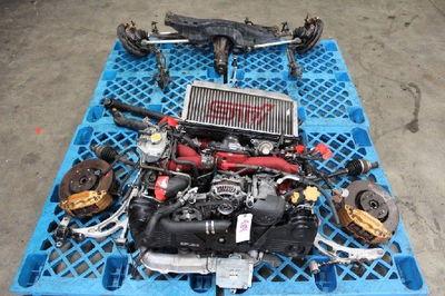 JDM Subaru WRX STi 06 07 V9 EJ207 Turbo Engine DCCD Transmis