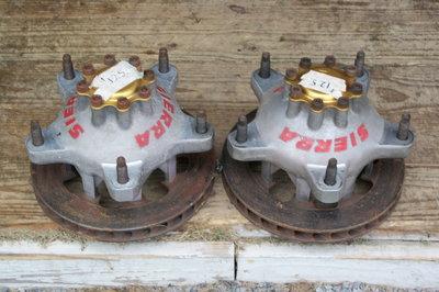 Sierra Hubs and Rotors