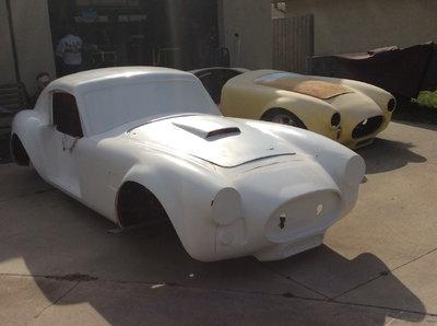 2 1966 Ford Cobra kits Unfinished.