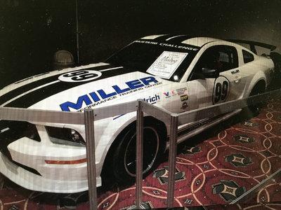 #99 Mustang Challenge car
