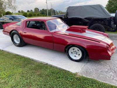 1979 Chevy Camaro drag car