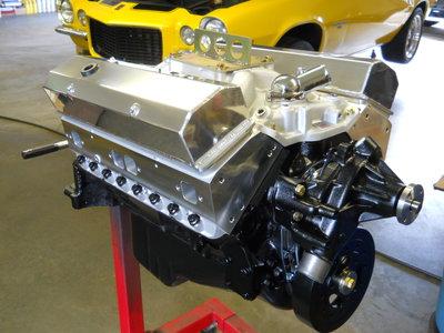 383 Stroker, Eagle Crank & Rods, Howards Hyd Roller