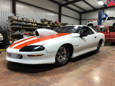 97 Camaro Tube Chassis Roller