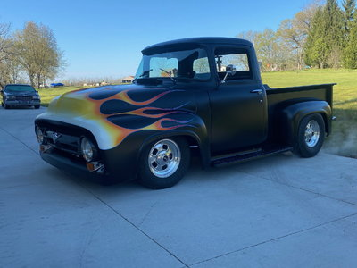 1956 ford f100 all steel