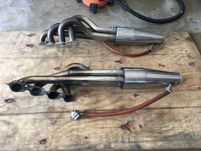 BBC Dragster Headers and Mufflers