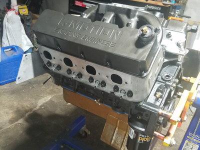 Dart Buick SBC 396 Blower or nitrous motor