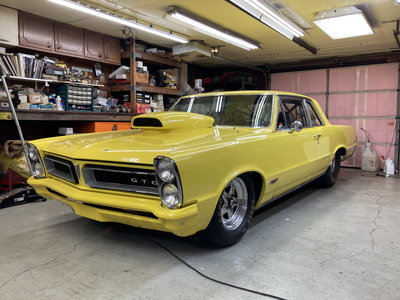 1965 GTO race ready with title
