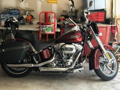 2012 Harley Davidson FLSTCVO