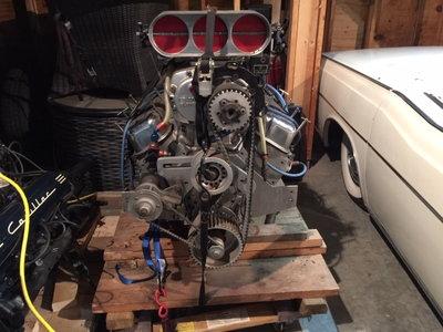 557 Rodeck Blown alchohol engine