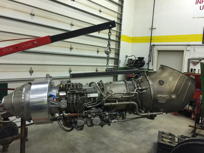 General Electric T58-8F Turbine Engine