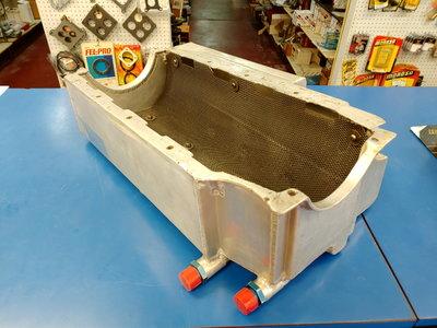 Aluminum Dry-Sump Oil Pan (Big Block Chevy)