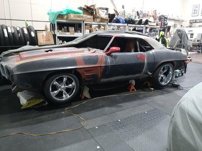 Pontiac Firebird Resto mod