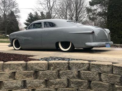 chopped 1949 ford full custom