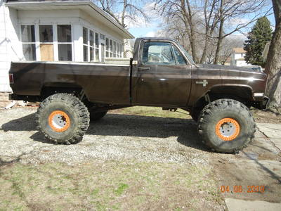 1985 Chevy Mud Toy