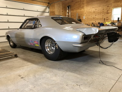 67 Camaro, Chassis Car, Roller