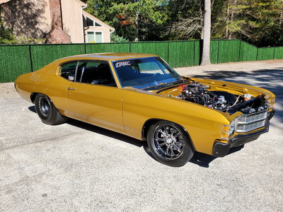 1971 Chevrolet Chevelle SS Race Car For Sale~750 Cert Chassi