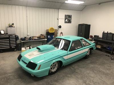 1986 Tube Chassis Mustang