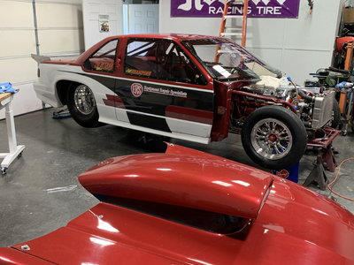 Chevy Lumina Trade for nice Dragster