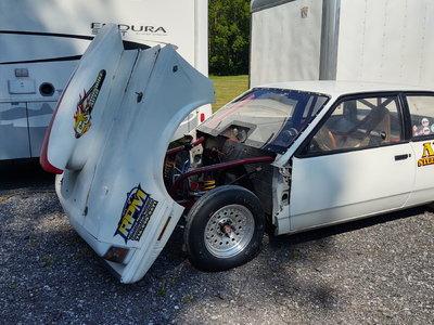 1983 Chevrolet Celebrity bracket/grudge car, full chassis,&n