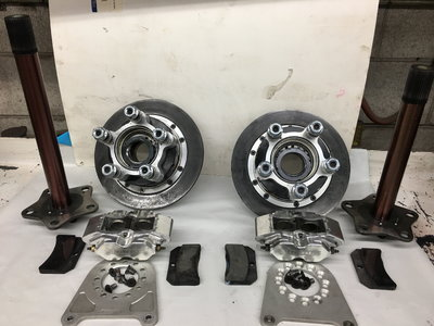 Strange Carbon Brakes, Axles & Hardware