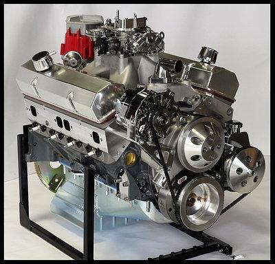 CHEVY TURN KEY SBC 421 STAGE 4.0 DART BLOCK  MOTOR 550HP