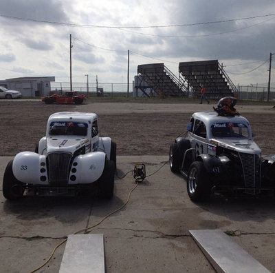 2 legend cars and everything needed to start racing