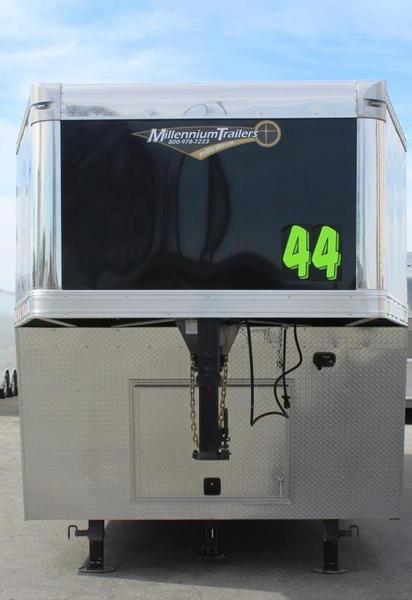 2019 44' Millennium Extreme Gooseneck Race Trailer Loaded!