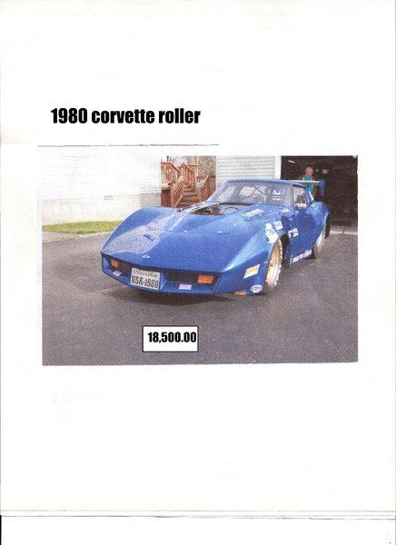 80 Corvette  for Sale $18,500