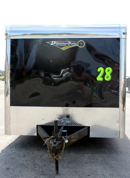 ***REDUCED $17,999** 2019 28' Enclosed Race Trailer LOADED