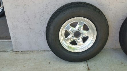 Mickey Thompson Tires with Jegs Wheels   for Sale $500