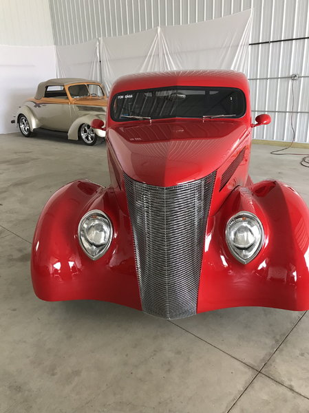 1937 Ford Pro Street Coupe  for Sale $60,000