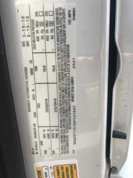 2019 Midwest Automotive Designs Daycruiser Sprinter Rv Campe