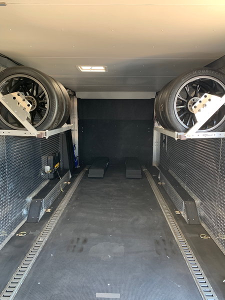 24 foot aluminum v-nose CargoPro enclosed car hauler  for Sale $26,500