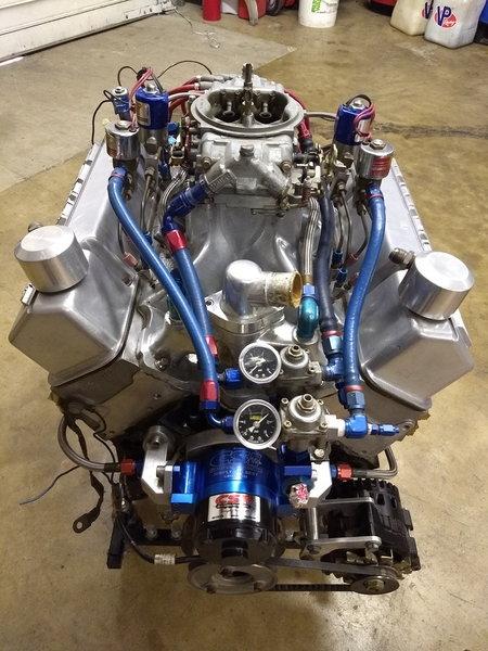 CHEV SB 383 18 Deg Nitrous Race Engine  for Sale $6,500