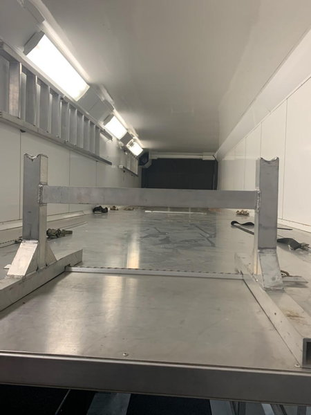 United Toterhome with Liftgate Trailer  for Sale $300,000