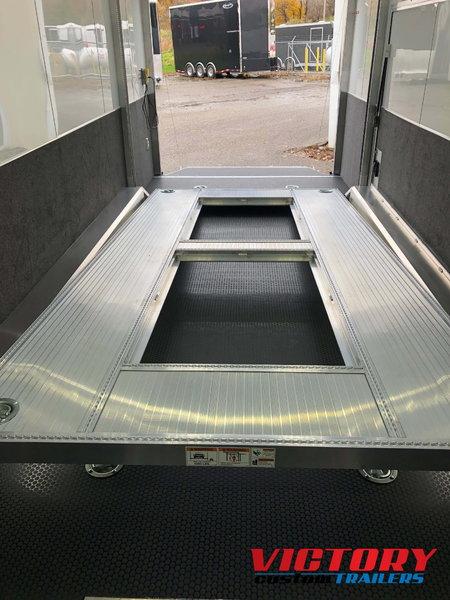 ATC 24' Aluminum Stacker with Escape Door