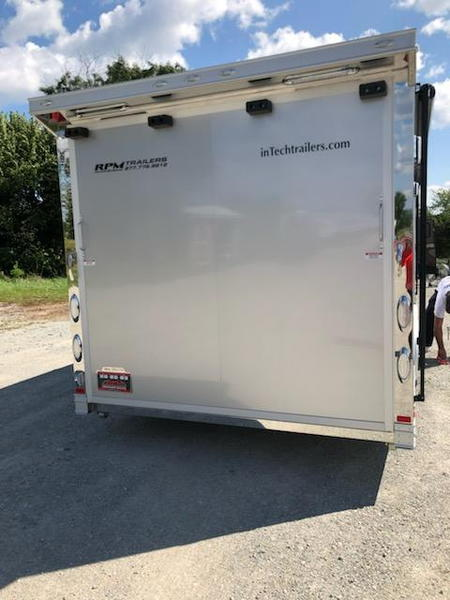 2018 24'  InTech Aluminum Trailer