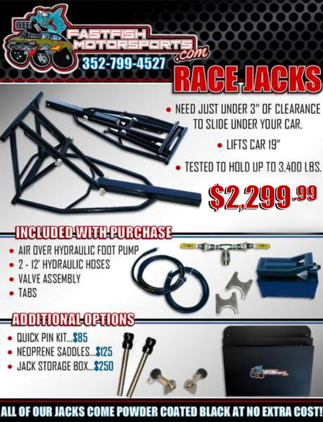 Hydraulic Race Jacks For Sale  for Sale $2,299