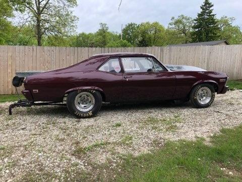 1969 NOVA DRAG CAR  for Sale $25,000