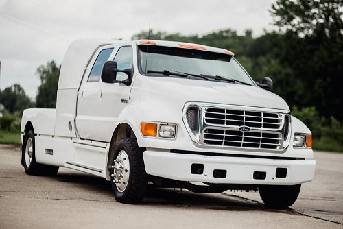 2001 FORD F650 SUPERCREWZER IMMACULATE TRUCK  for Sale $48,500