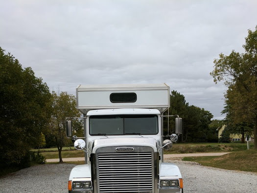 Freightliner Conversion With Fusion Custom Trailer  for Sale $125,000