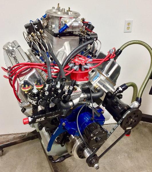 438 Nitrous Engine 1400+ Horsepower  for Sale $36,256