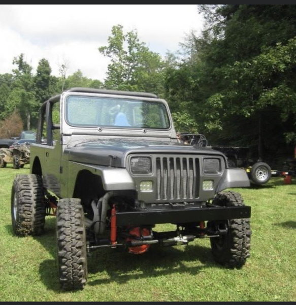 Off Road Mudding Jeep  for Sale $10,750