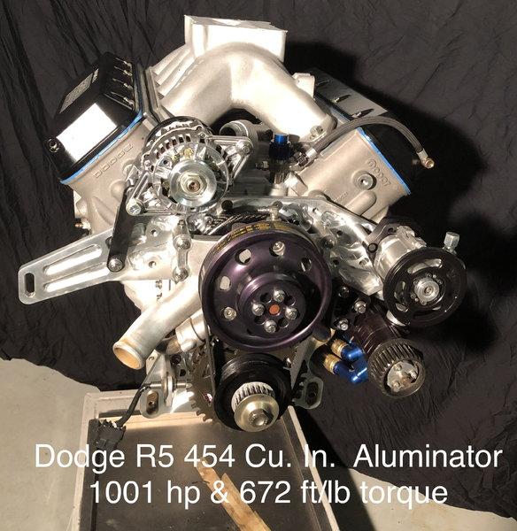 MTI 0807-003 Dodge R5 454 Cu in1001hp   for Sale $50,000